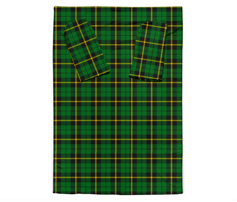 Image of Wallace Hunting - Green Tartan Clans Sleeve Blanket K6