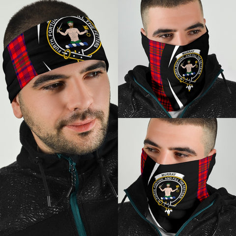 Murray of Tulloch Modern Tartan Bandana Circle Hj4