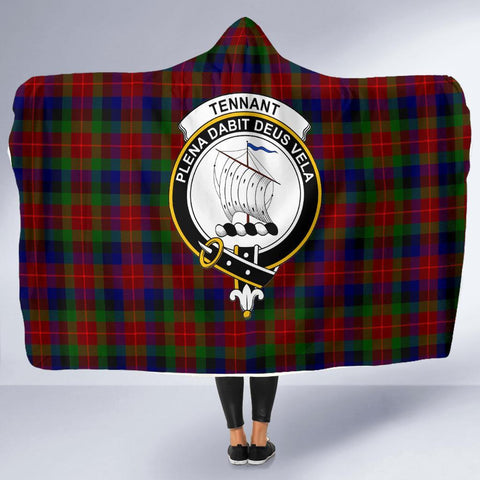 Tennant Clans Tartan Hooded Blanket - BN