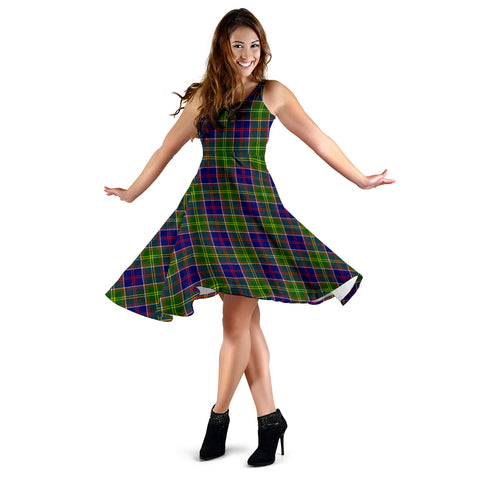 Ayrshire District Tartan Dress