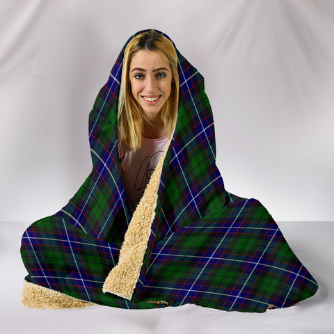 Russell Modern, hooded blanket, tartan hooded blanket, Scots Tartan, Merry Christmas, cyber Monday, xmas, snow hooded blanket, Scotland tartan, woven blanket
