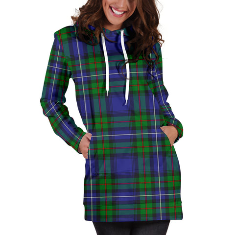 Image of Robertson Hunting Modern Tartan Hoodie Dress HJ4