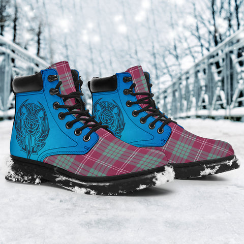 Crawford Ancient Tartan All-Season Boots - Celtic Thistle TH8
