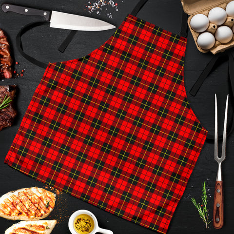 Wallace Hunting - Red Tartan Apron HJ4