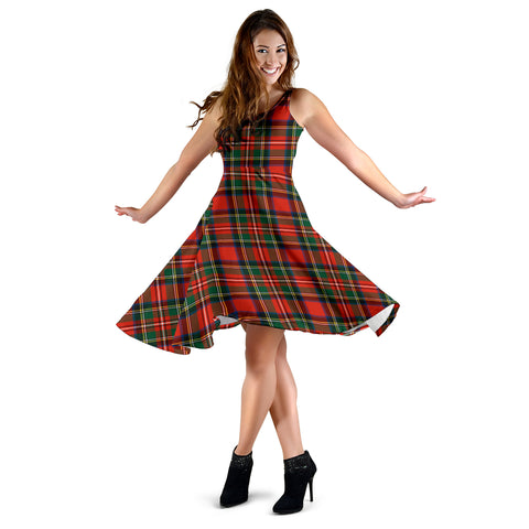 Stewart Royal Modern Tartan Dress