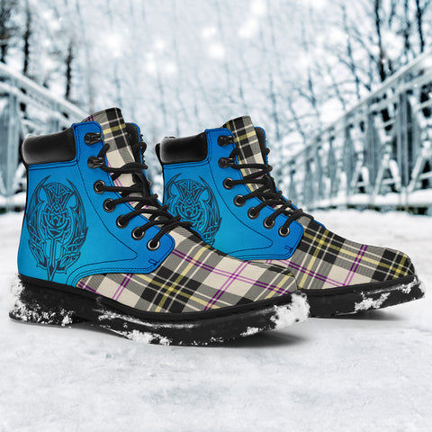 Image of Macpherson Dress Ancient Tartan All-Season Boots - Celtic Thistle TH8