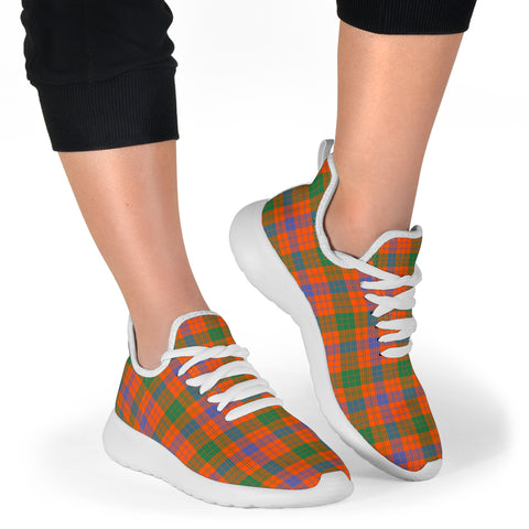 Image of Tartan Mesh Knit Sneakers - Ross Ancient - BN