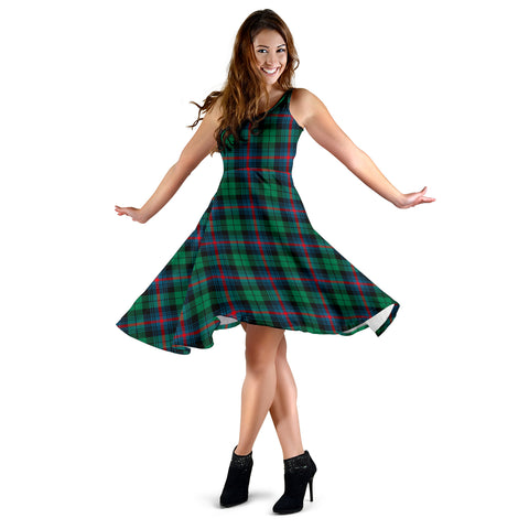 Urquhart Broad Red Ancient Tartan Dress