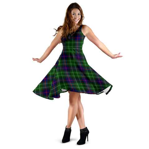 Leslie Hunting Tartan Dress