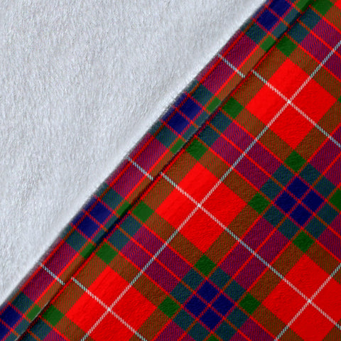 Abernethy Crest Tartan Blanket | Tartan Home Decor | Scottish Clan