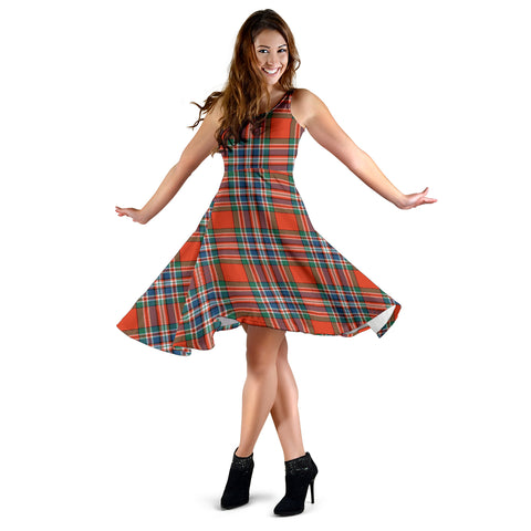 MacFarlane Ancient Tartan Dress