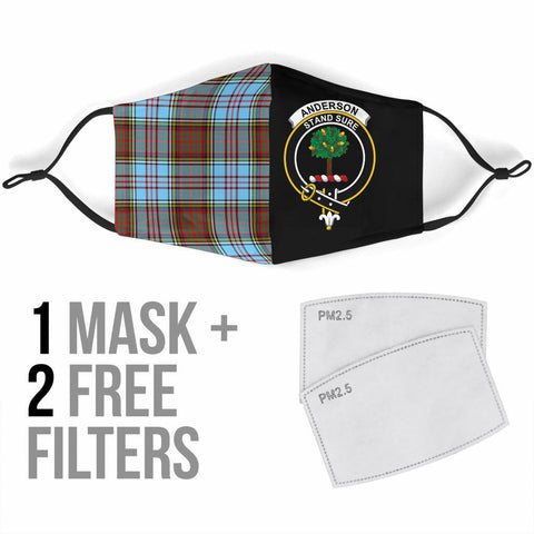 Anderson Ancient  Tartan Mouth Mask The Half Th88