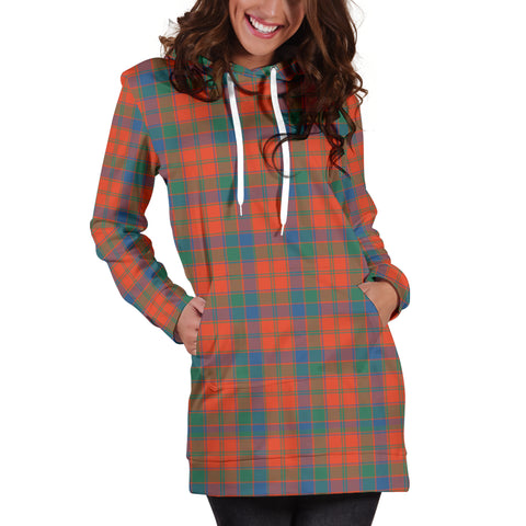 Robertson Ancient Tartan Hoodie Dress HJ4