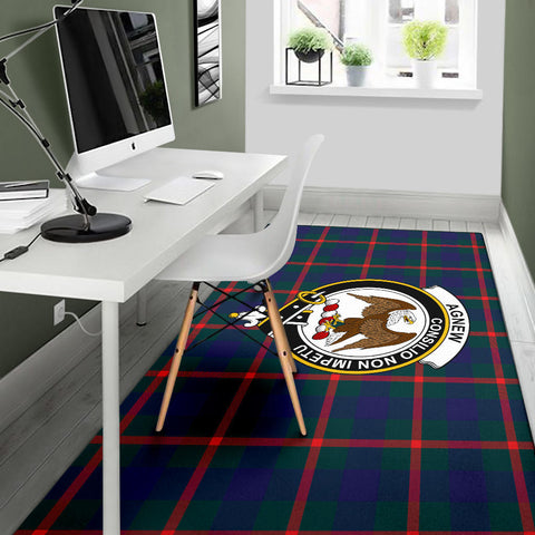 Image of Agnew Clan Tartan Area Rug - BN