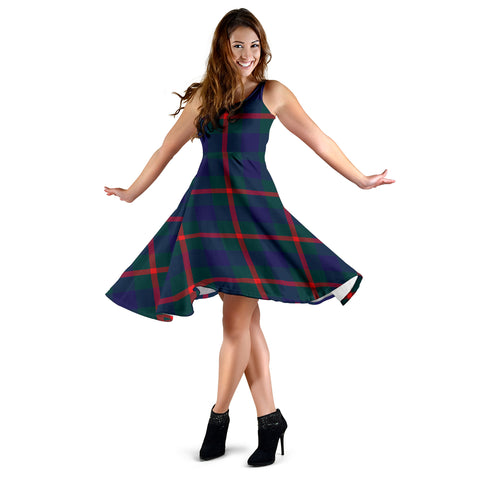 Agnew Modern Tartan Dress