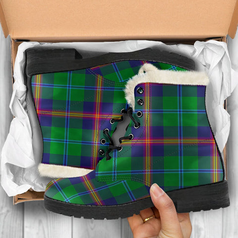 Image of Young Modern Tartan Shoes