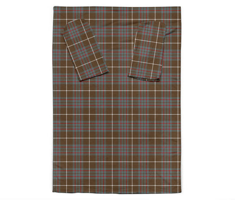Image of MacIntyre Hunting Weathered Tartan Clans Sleeve Blanket K6