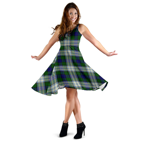 Blackwatch Dress Modern Tartan Dress