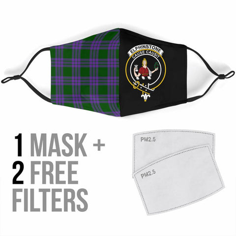Elphinstone  Tartan Mouth Mask The Half Th88