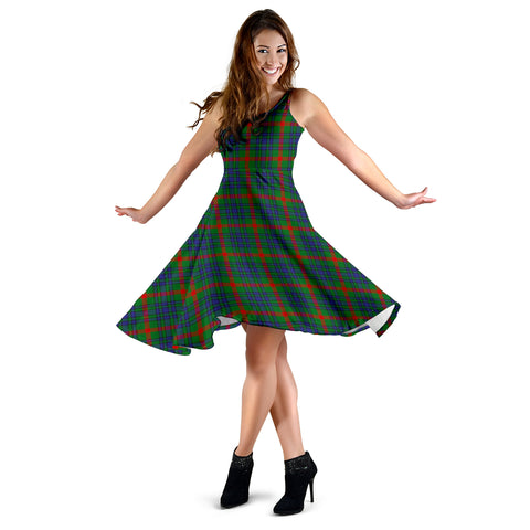 Aiton Tartan Dress