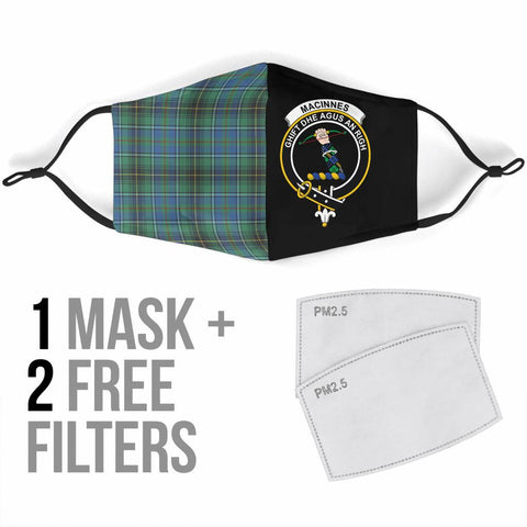 MacInnes Ancient  Tartan Mouth Mask The Half Th88
