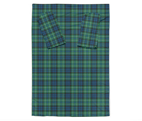 MacNeill of Colonsay Ancient Tartan Clans Sleeve Blanket K6