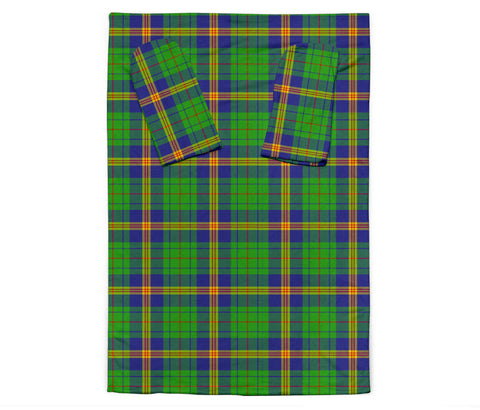 New Mexico Tartan Clans Sleeve Blanket K6