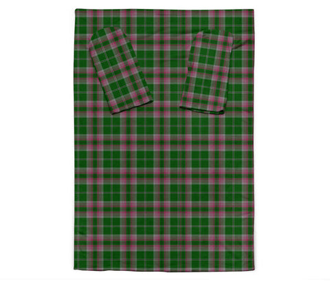 Image of Gray Hunting Tartan Clans Sleeve Blanket K6
