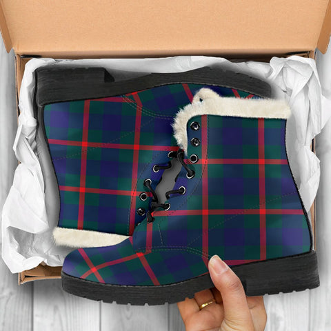 Image of Agnew Modern Tartan Shoes