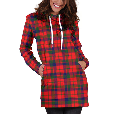 Image of Robertson Modern Tartan Hoodie Dress HJ4