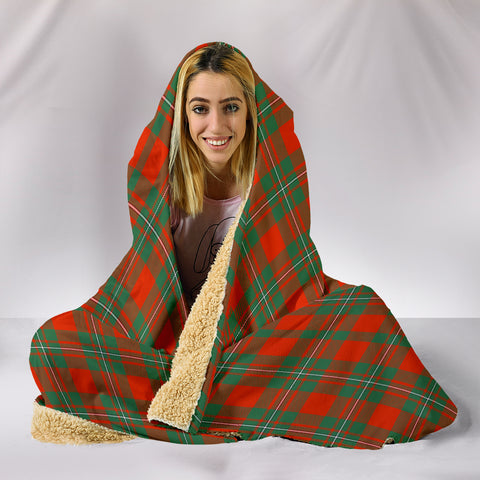 MacGregor Ancient, hooded blanket, tartan hooded blanket, Scots Tartan, Merry Christmas, cyber Monday, xmas, snow hooded blanket, Scotland tartan, woven blanket