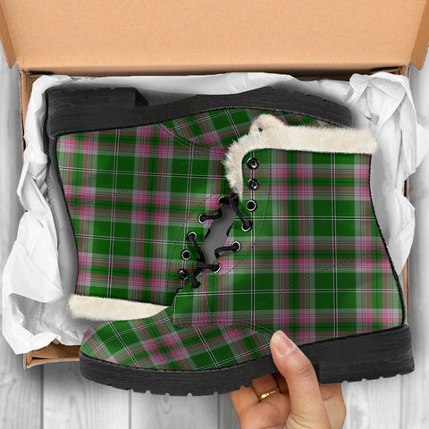 Gray Hunting Tartan Shoes