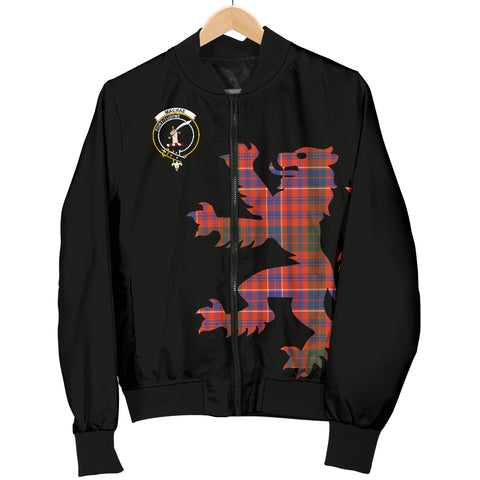 MacRae Tartan Lion & Thistle Men Jacket TH8
