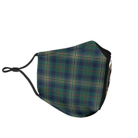 Image of Kennedy Modern  Tartan Mouth Mask The Half Th88