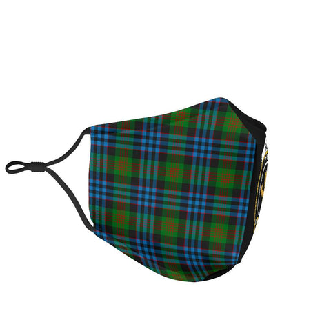 Newlands of Lauriston  Tartan Mouth Mask The Half Th88
