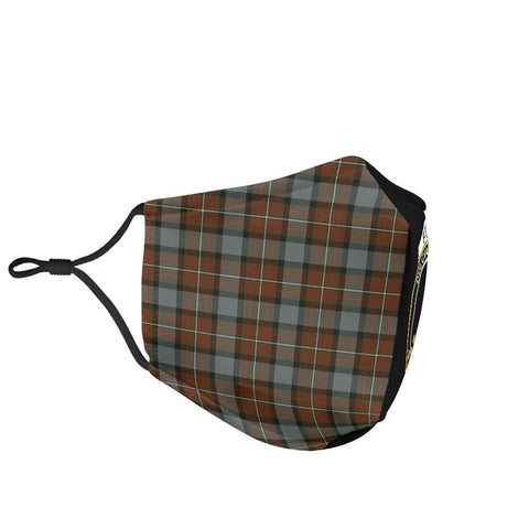 Fergusson Weathered  Tartan Mouth Mask The Half Th88