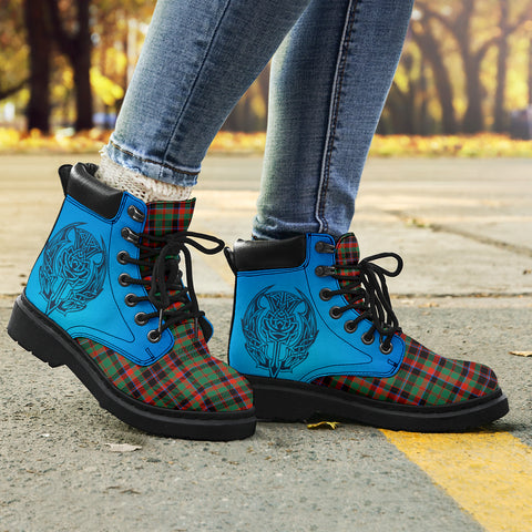 Cumming Hunting Ancient Tartan All-Season Boots - Celtic Thistle TH8