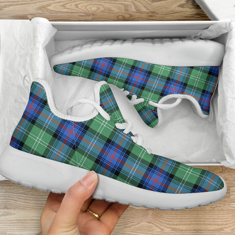 Tartan Mesh Knit Sneakers - Sutherland Old Ancient - BN