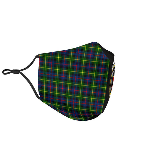 Image of Farquharson Modern  Tartan Mouth Mask The Half Th88