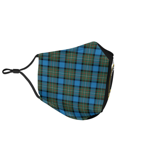 Fergusson Ancient  Tartan Mouth Mask The Half Th88