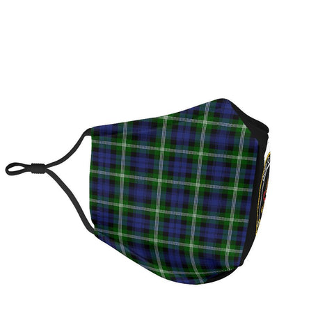 Image of Baillie Modern  Tartan Mouth Mask The Half Th88