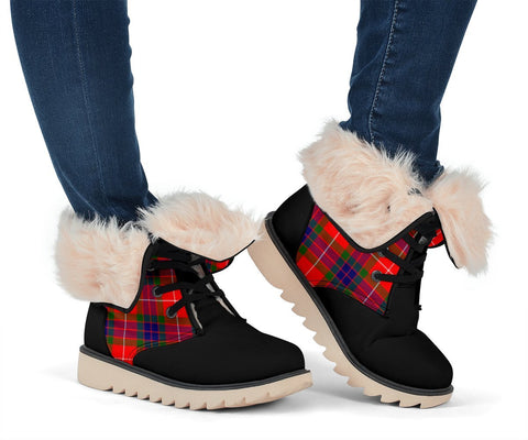 Image of Tartan Women's Snow Boots - Clan Abernethy Boots - BN