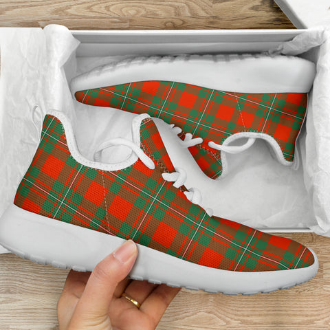 Tartan Mesh Knit Sneakers - MacGregor Ancient - BN