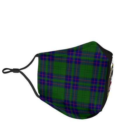 Lockhart Modern  Tartan Mouth Mask The Half Th88