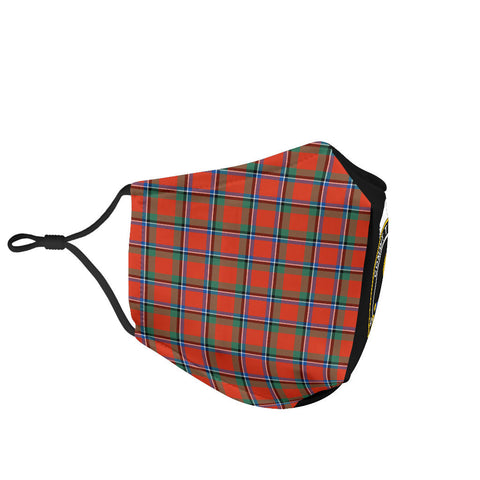 Image of Sinclair Ancient  Tartan Mouth Mask The Half Th88