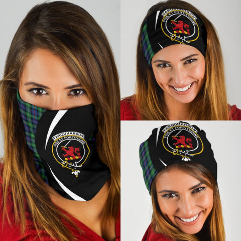 Image of Falconer Tartan Bandana Circle Hj4