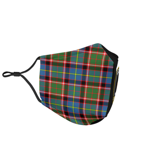 Stirling & Bannockburn District  Tartan Mouth Mask The Half Th88