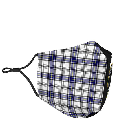 Hannay Modern  Tartan Mouth Mask The Half Th88
