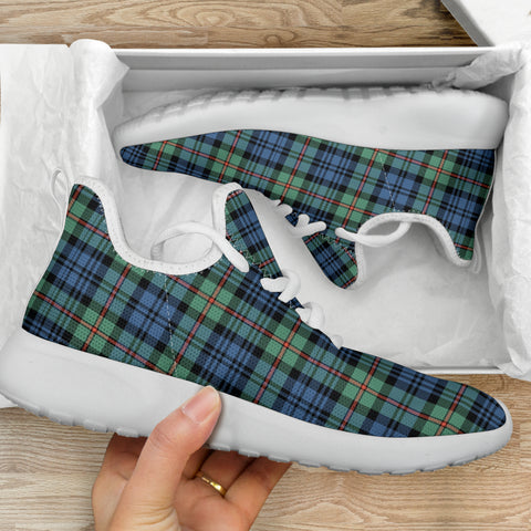 Tartan Mesh Knit Sneakers - MacKinlay Ancient - BN
