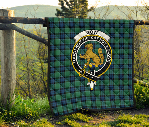 Graham of Menteith Ancient Tartan Clan Badge Premium Quilt TH8